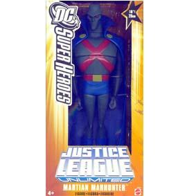 Justice League Unlimited Martian Manhunter Mattel Ajax Marciano