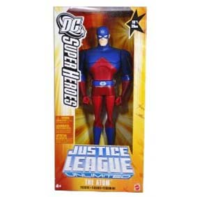 Justice League Unlimited The Atom Mattel Atomo Liga da Justiça