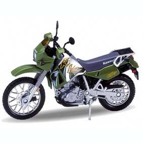 Kawasaki KLR 650 com base