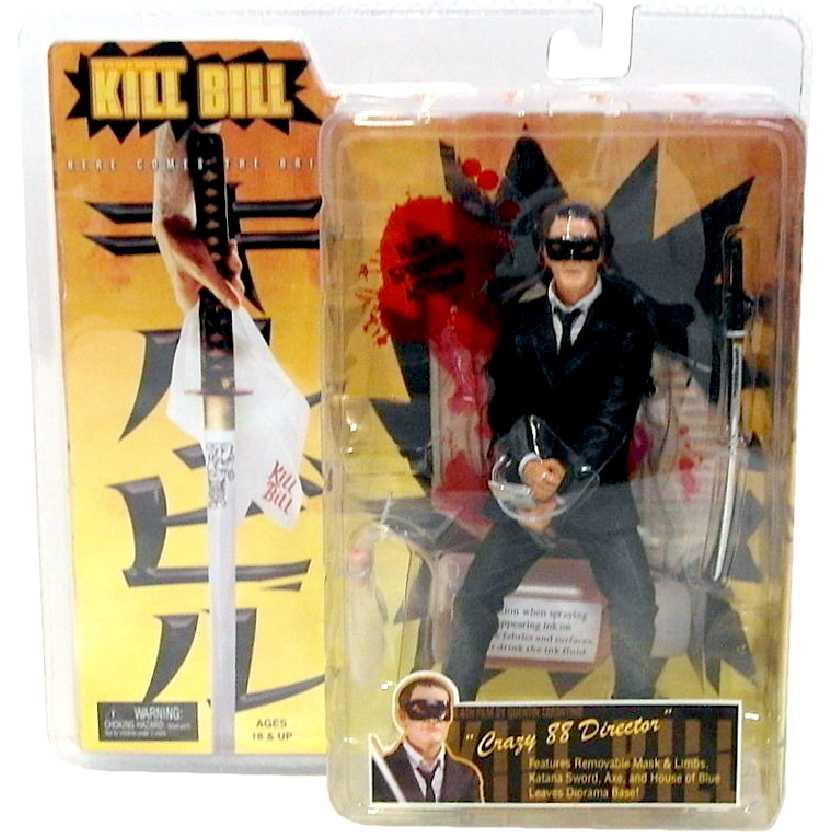 Kill Bill Crazy 88 Fighter #2 Director Neca Action Figures