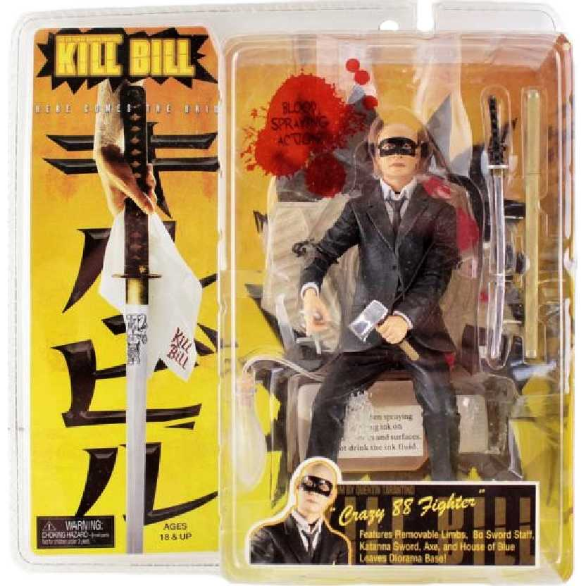 Kill Bill Crazy 88 Fighter #3 Bald Henchman Neca Action Figure