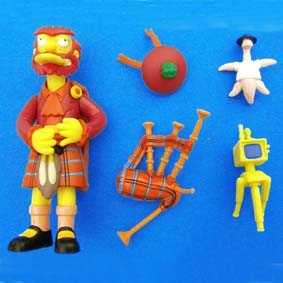 Kilted Willie The Simpsons Action Figures (aberto) series 14