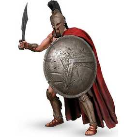 King Leonidas 300 (aberto) + 1 cabeça