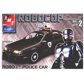 Kit Ford Taurus do Robocop Nível 2 (requer pintura e cola) Raridade