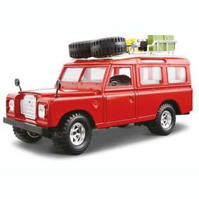 Kit Land Rover (1971) não requer cola ou tinta