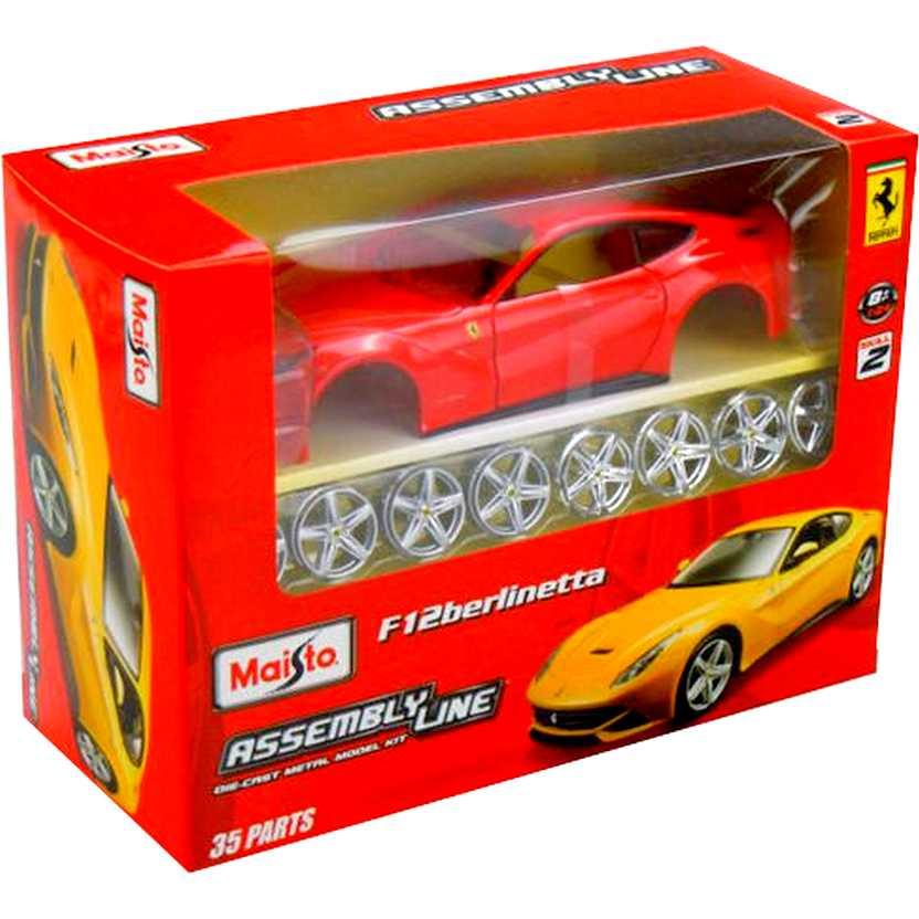 Kit Maisto escala 1/24 - Ferrari F12 Berlinetta