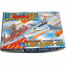 Kit plástico da nave do Ultraseven Ultra Hawk - 001 escala 1/144 Task Force