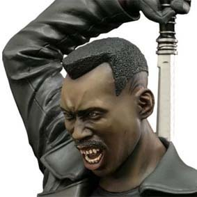 Kotobukiya do Brasil Blade O Caçador de Vampiros Fine Art Bust - Marvel Movie