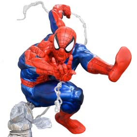 Kotobukiya The Amazing Spiderman Unleashed Fine Art Statue escala 1/6