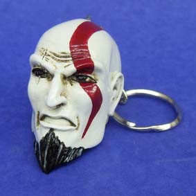 Kratos (God of War) Chaveiro de resina