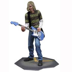 Kurt Cobain Nirvana com som