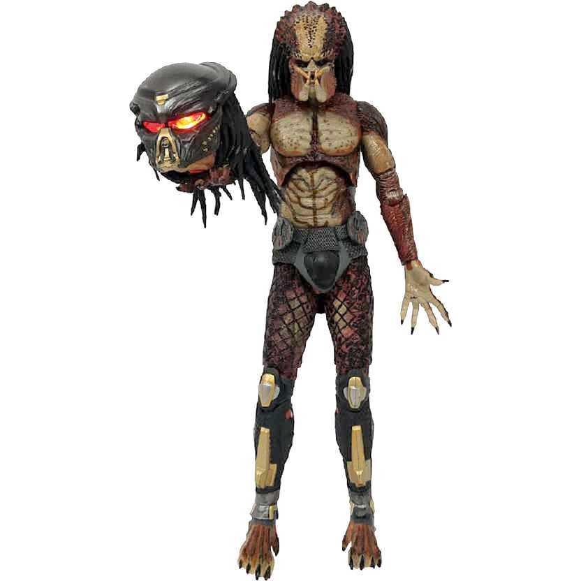 Lab Escape Fugitive Predator / Predador com luz The Predator Ultimate Neca action figures