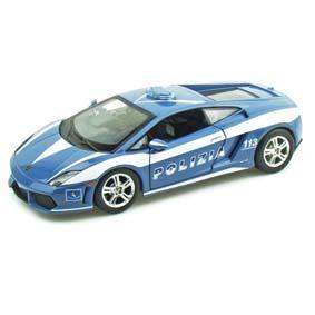 Lamborghini Gallardo LP560-4 Polizia/Police (Viatura Polícial) Maisto escala 1/24