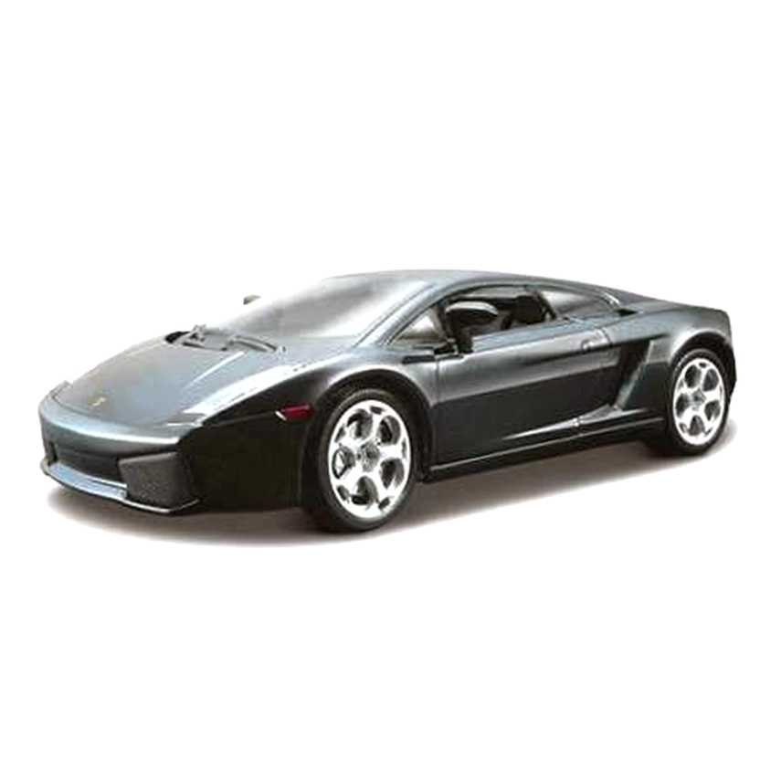 Lamborghini Gallardo preto marca Bburago escala 1/24