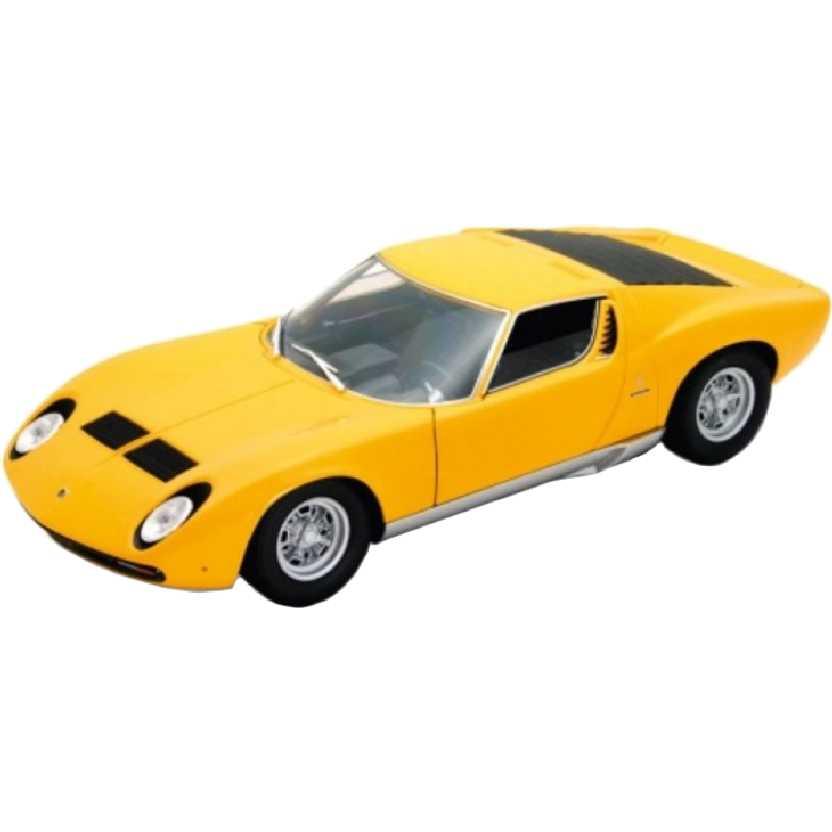 Lamborghini Miura P400 SV (1971) marca Welly escala 1/18