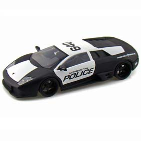 Lamborghini Murcielago LP640 Police - Jada Toys escala 1/24