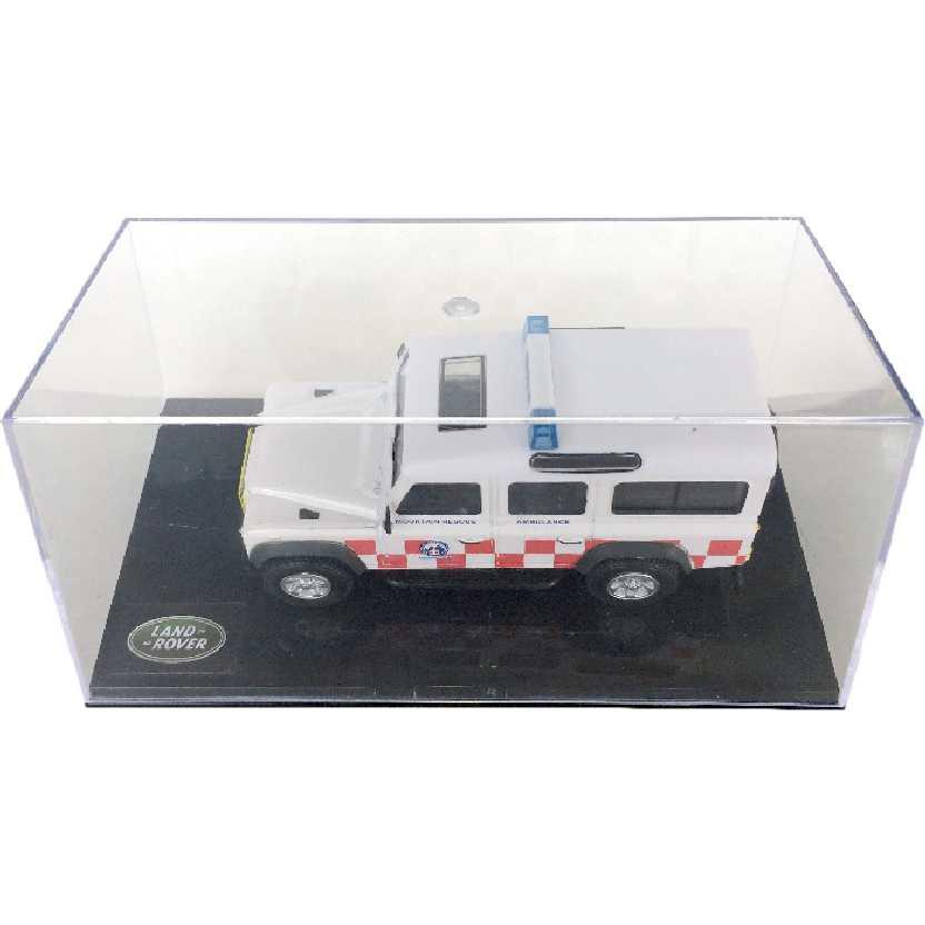 Land Rover Defender 110 escala 1/43 com caixa de acrílico
