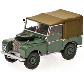 Land Rover series 1 verde (1948) Minichamps escala 1/18