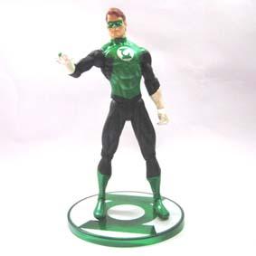 Lanterna Verde - John Stewart c/ anel e lanterna (aberto)