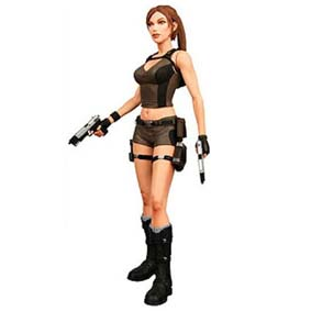 Lara Croft - Tomb Raider (aberto) Underworld Neca