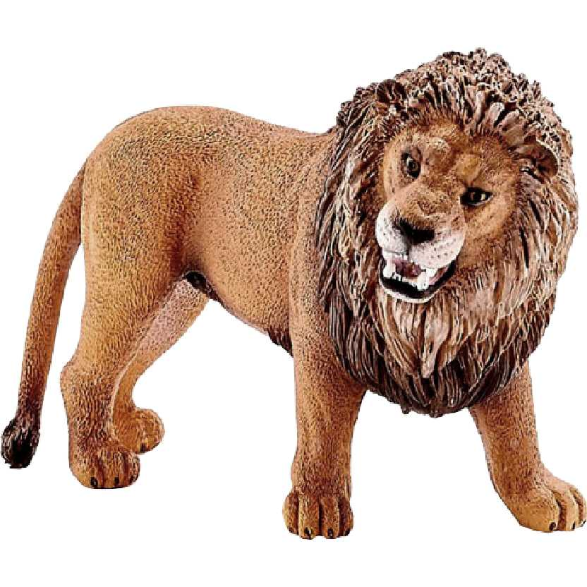 Leão rugindo 14726 marca Schleich Lion roaring
