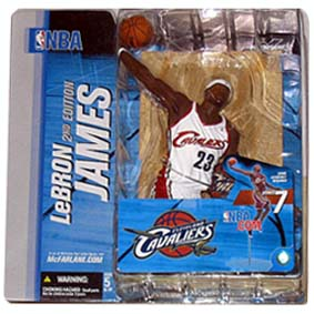 Lebron James NBA series 7 variant