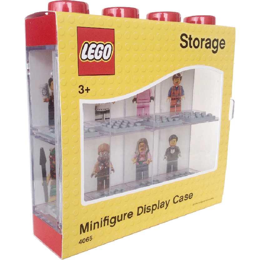 Lego Minifigure Display Case Storage Caixa protetora para bonecos Lego #4065