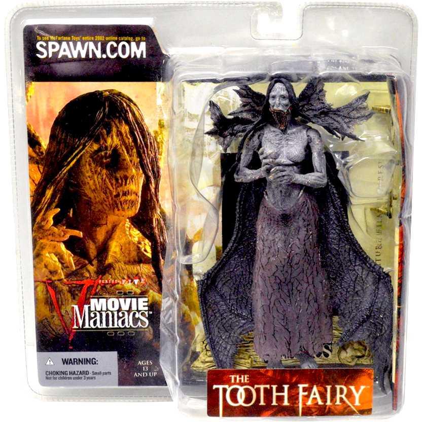 Lenda Maldita The Tooth Fairy marca McFarlane Movie Maniacs 5 action figures