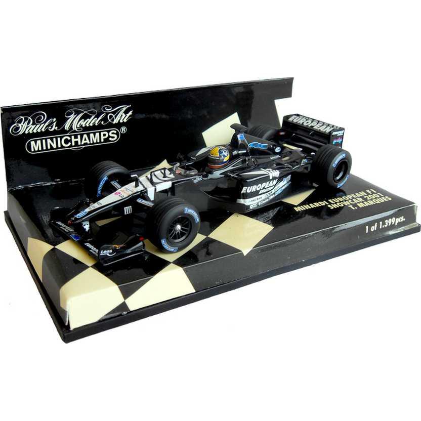 Lendas Brasileiras do Automobilismo F1 Minichamps Minardi (2001) Tarso Marques