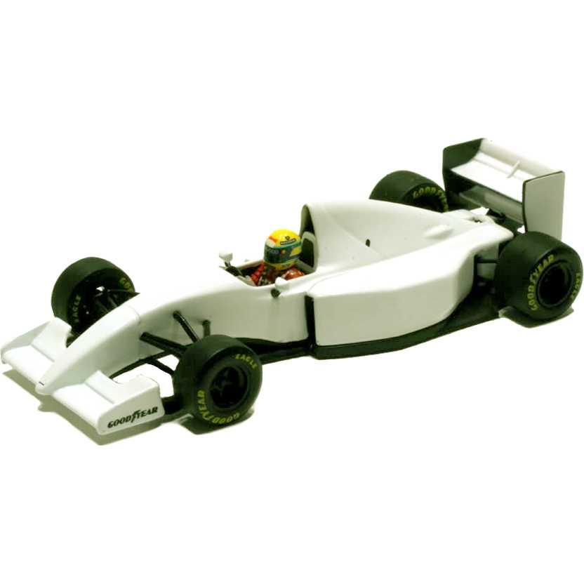 Lendas Brasileiras do Automobilismo Minichamps Ayrton Senna McLaren MP4/8B (1993)