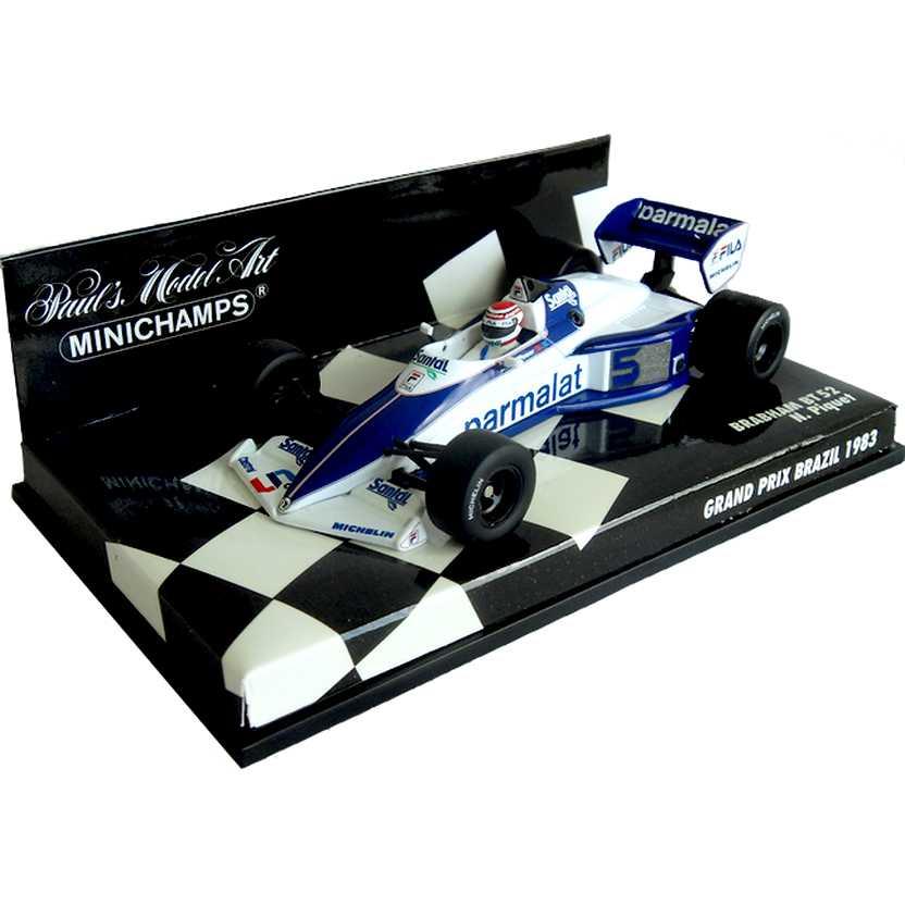 Lendas Brasileiras do Automobilismo Minichamps BT52 Brabham Nelson Piquet (1983)
