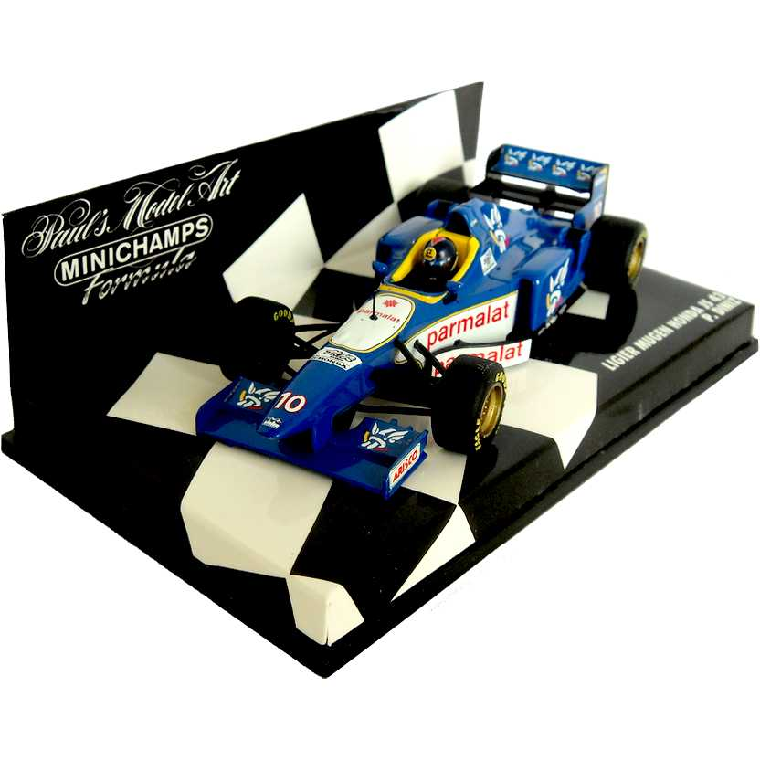 Lendas Brasileiras do Automobilismo Minichamps Ligier Honda JS 43 Pedro Diniz (1997)