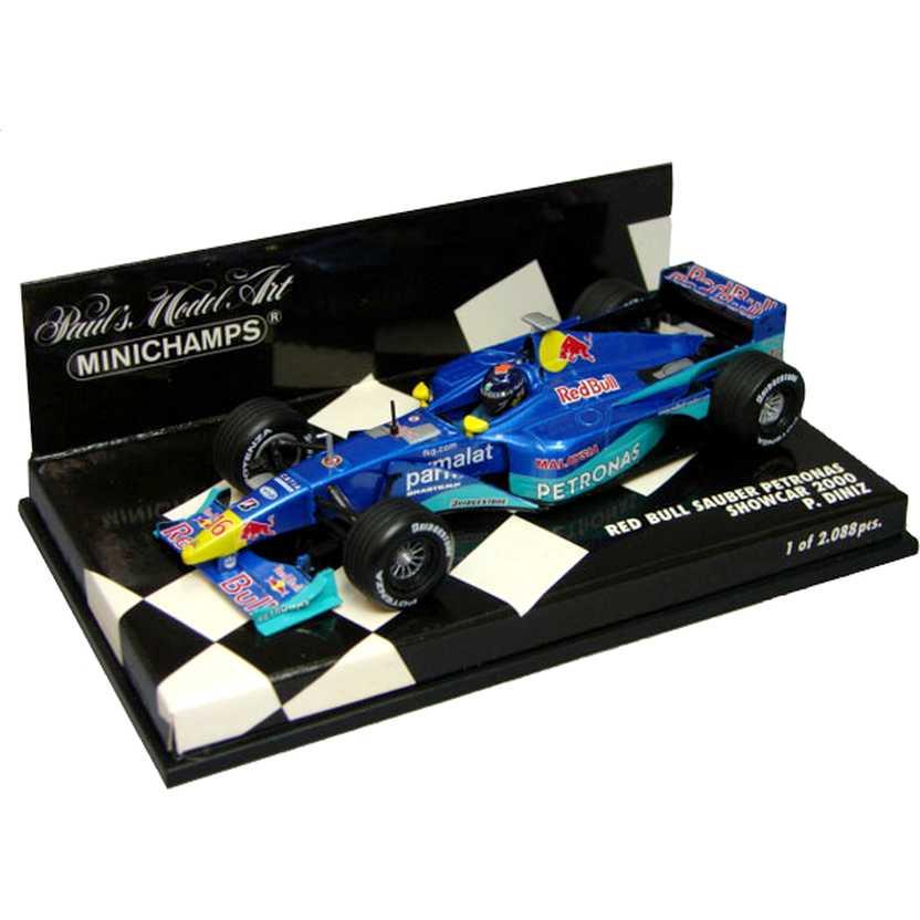 Lendas Brasileiras do Automobilismo Minichamps Red Bull Sauber C19 Pedro Diniz (2000)