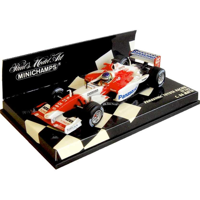Lendas Brasileiras do Automobilismo Minichamps TF103 Toyota Cristiano da Matta (2003)