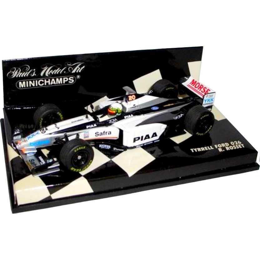 Lendas Brasileiras do Automobilismo Minichamps Tyrrell Ford 026 Ricardo Rosset (1998)