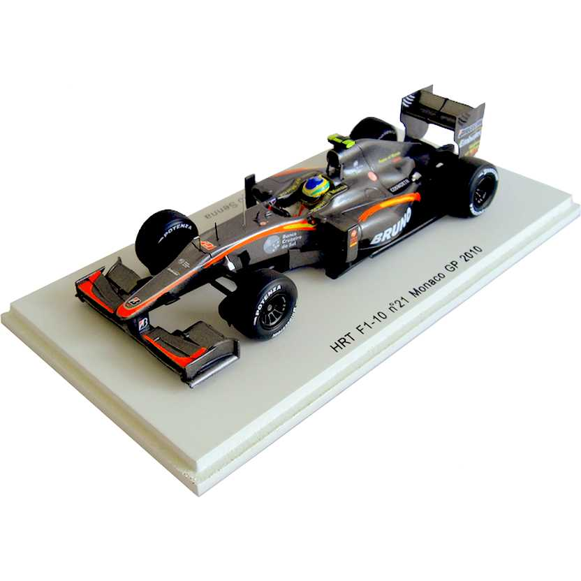 Lendas Brasileiras do Automobilismo S3003 Spark HRT F1-10 Bruno Senna (2010)