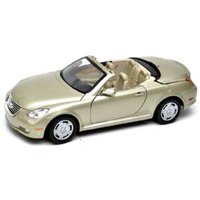 Lexus miniature cars SC430 convertible / Motormax escala 1/18