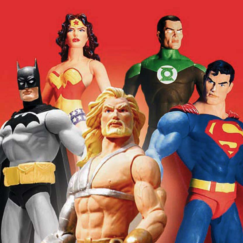 Liga da Justiça : JLA Gift Set (Batman/ Superman/ Green Lantern/ Wonder Woman)