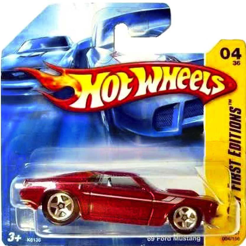 Linha 2007 Hot Wheels 69 Ford Mustang K6136 series 04/36 004/156