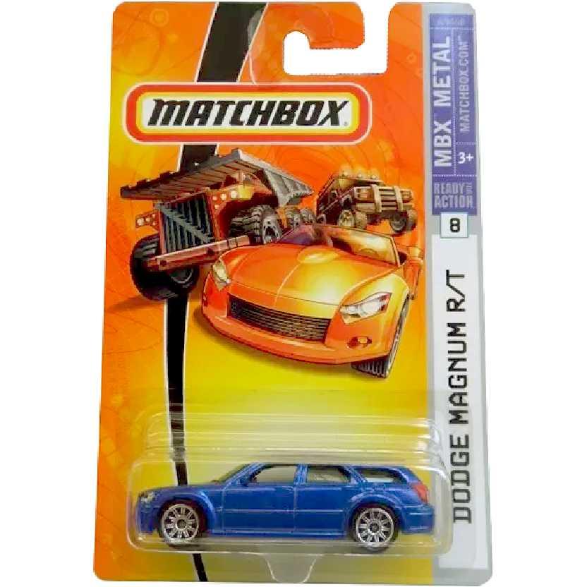 Linha 2007 Matchbox Dodge Magnum R/T #8 K9468 escala 1/64