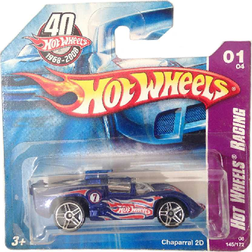Linha 2008 Hot Wheels Chaparral 2D series 01/04 145/175 M6883 escala 1/64