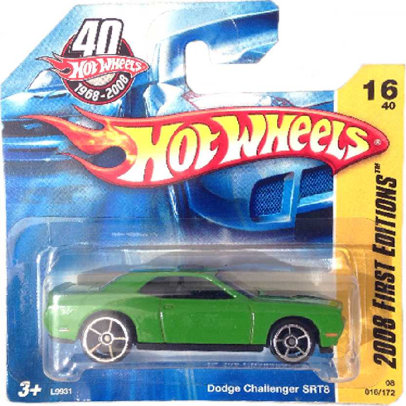 Linha 2008 Hot Wheels Dodge Challenger SRT8 series 16/40 016/172 L9931 escala 1/64