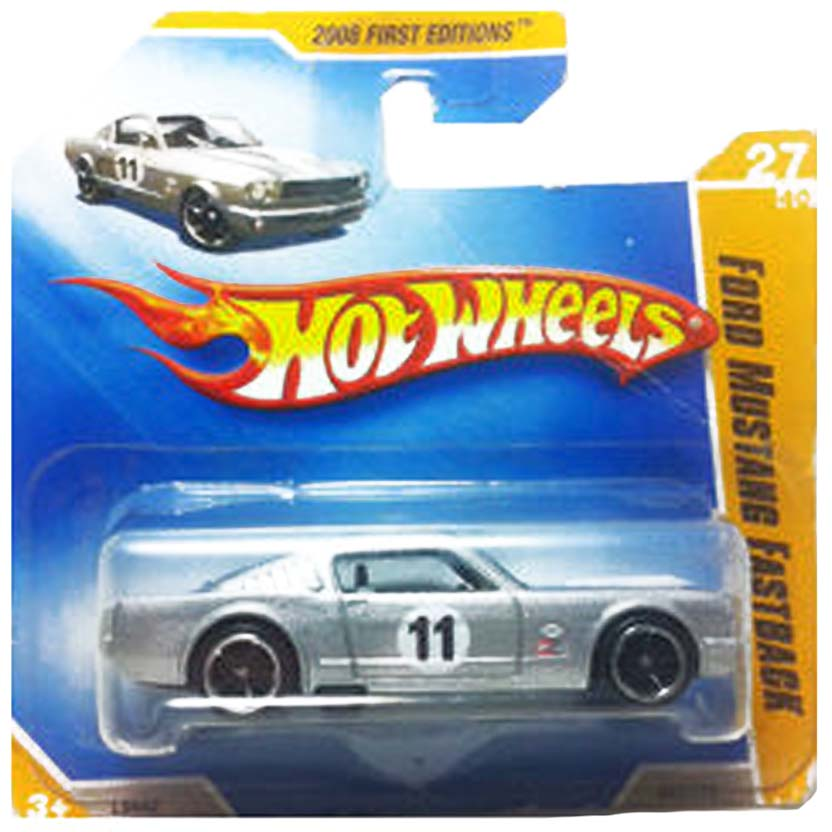 Linha 2008 Hot Wheels Ford Mustang Fastback L9942 series 27/40 027/172