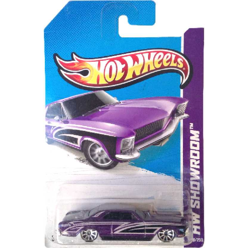 Linha 2013 Hot Wheels 64 Buick Riviera series 238/250 X1854 escala 1/64