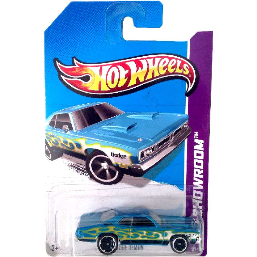 Linha 2013 Hot Wheels 71 Dodge Demon series 217/250 X1797 escala 1/64