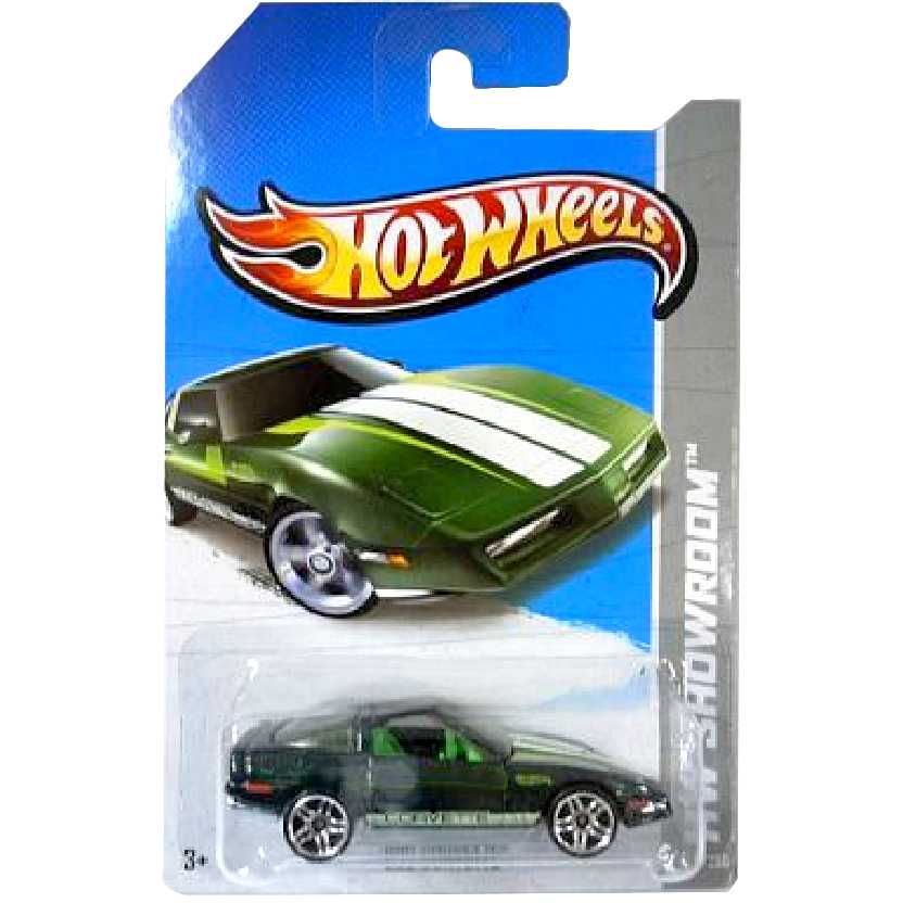 Linha 2013 Hot Wheels 80s Corvette X1975 serie 206/250 escala 1/64