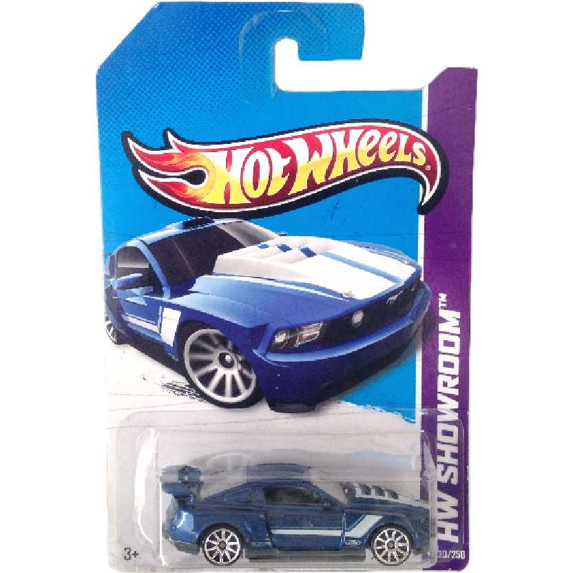Linha 2013 Hot Wheels Custom 12 Ford Mustang series 230/250 X1743 escala 1/64