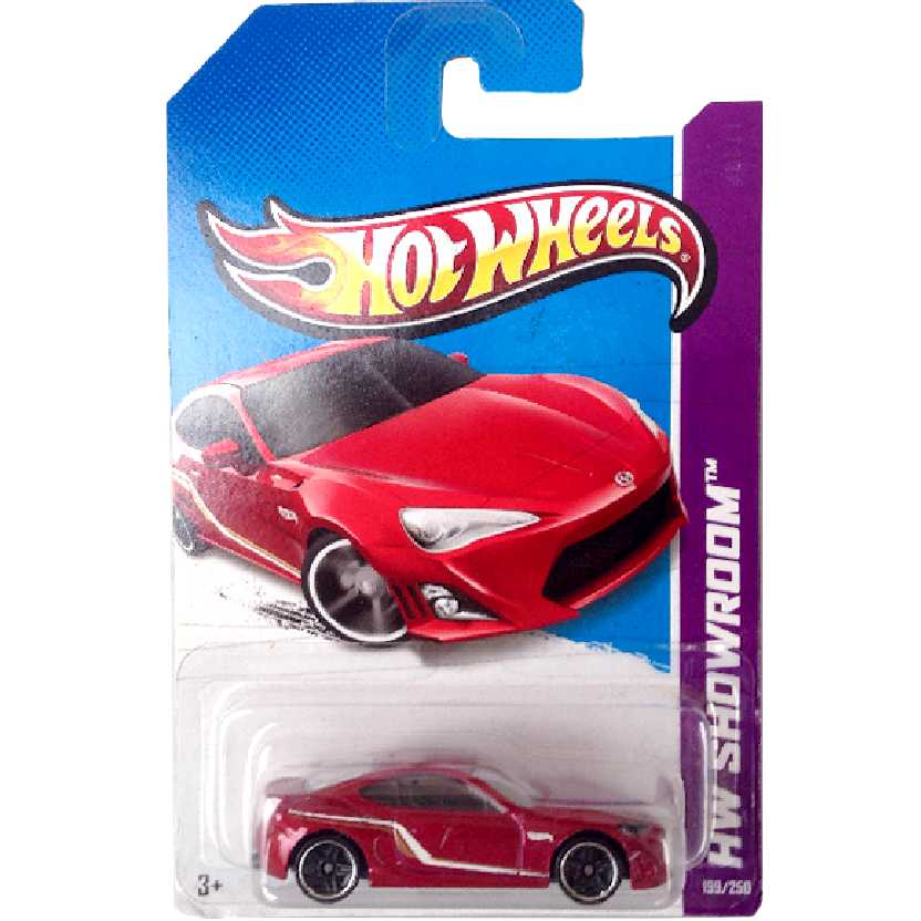 Linha 2013 Hot Wheels Scion FR-S series 199/250 X1627 escala 1/64
