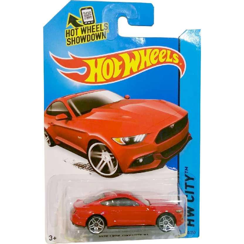 Linha 2014 Hot Wheels 2015 Ford Mustang GT series 100/250 BDD18 escala 1/64