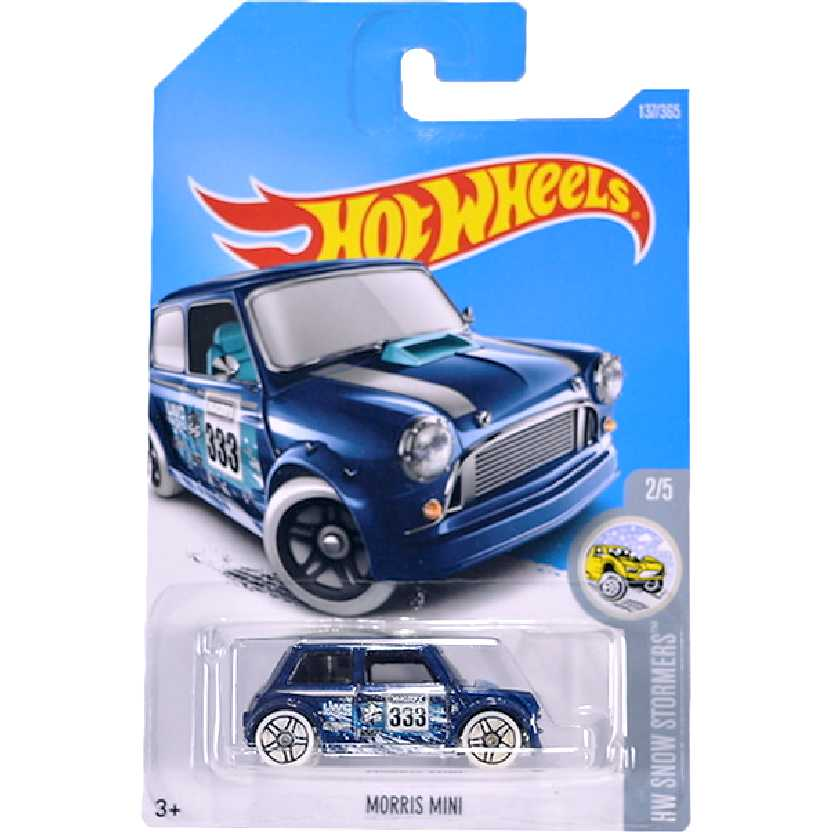 Linha 2017 Hot Wheels Austin Morris Mini Cooper series 2/5 137/365 DTY28 escala 1/64
